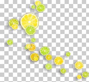 Lemon Yellow Lime Vitamin C PNG