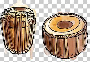 Dholak Tabla Musical Instrument Tom-tom Drum PNG