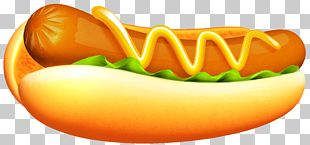 Hot Dog Hamburger Sausage PNG