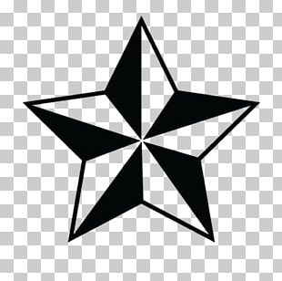 Nautical Star Old School (tattoo) Sailor Tattoos PNG