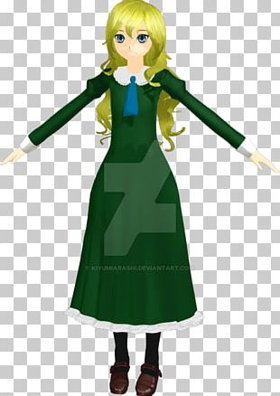 Costume Design Green Character Animated Cartoon PNG