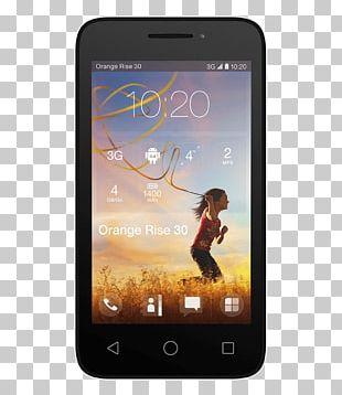 Smartphone Feature Phone Case Orange PNG