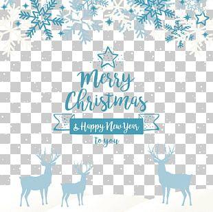 Blue Christmas Santa Claus Christmas Ornament PNG