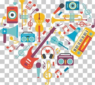 Musical Instruments Musical Theatre Art Background Music PNG