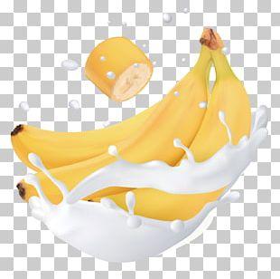 Banana Flavored Milk Banana Flavored Milk Fruit PNG