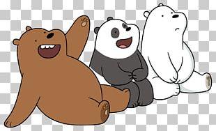 Polar Bear Giant Panda Grizzly Bear Cartoon Network PNG