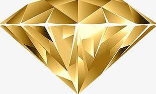 Gold Diamond PNG