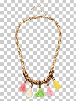 Necklace Earring Chain Jewellery Gemstone PNG