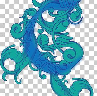 Seahorse Illustration Graphic Design Pattern PNG
