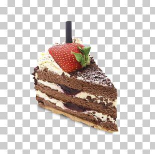 Chocolate Cake Sachertorte Petit Four Cream PNG
