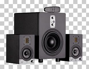 Computer Speakers Subwoofer Studio Monitor EVE Audio サブウーファー Loudspeaker PNG