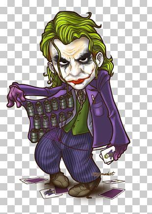 Joker Batman Harley Quinn Riddler Chibi PNG