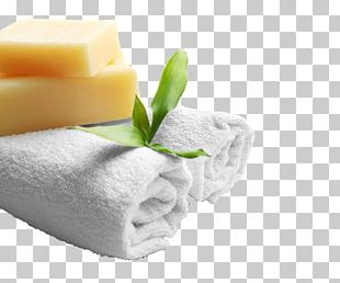 Towel Spa Soap PNG