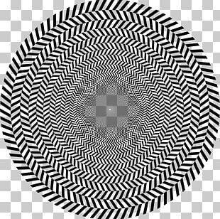 Optical Illusion Optics Movement In Squares Op Art PNG