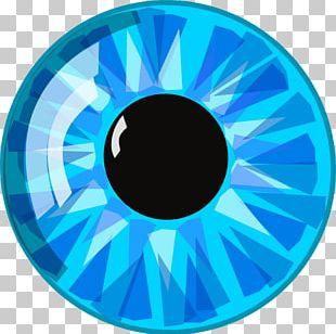 Eye Blue Iris PNG