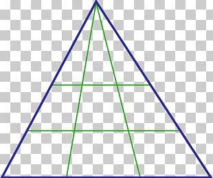 Triangle Mathematics Area PNG