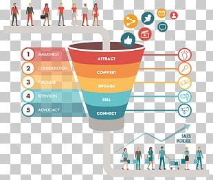 Digital Marketing Sales Process Marketing Strategy PNG