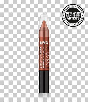 New York City Cosmetics Eye Shadow Lipstick Mascara PNG