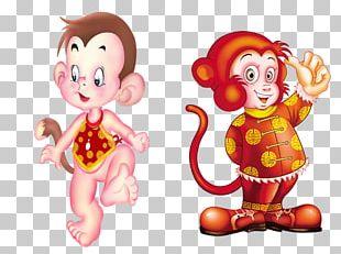 Monkey Chinese New Year Happiness Chinese Zodiac PNG