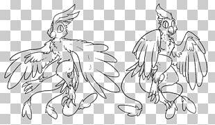 Drawing Bird Line Art Phoenix PNG