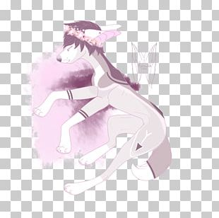 Horse Cartoon Pink M PNG