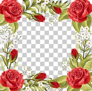 Wedding Invitation Beach Rose Garden Roses Flower PNG
