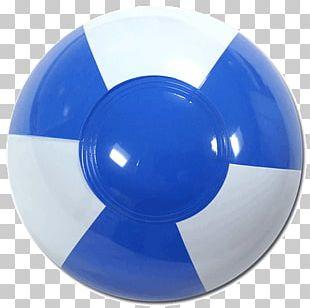 Beach Ball Light Blue PNG