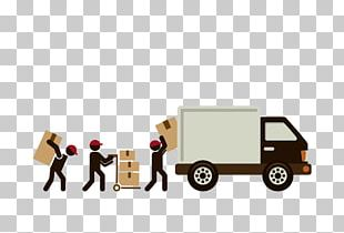 Mover Delivery Freight Transport PNG
