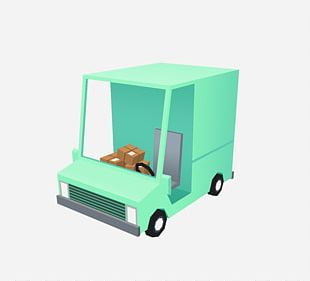 Car Truck Delivery Motor Vehicle PNG