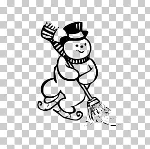 Coloring Book Snowman Drawing Child Kleurplaat PNG