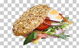 Breakfast Sandwich Vegetarian Cuisine Veggie Burger Junk Food Hamburger PNG