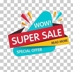 Sales Promotion Web Banner PNG