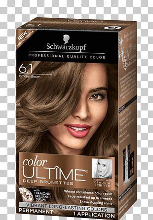 Hair Coloring Schwarzkopf Brown Hair PNG