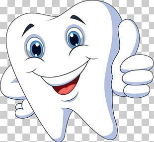 Cartoon Tooth Pathology PNG