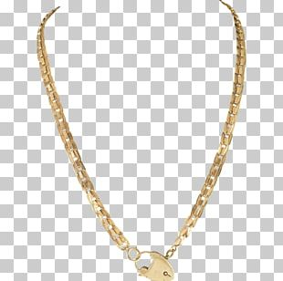 Necklace Chain Gold Jewellery PNG