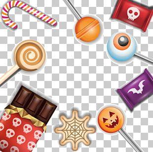 Halloween Candy Euclidean PNG