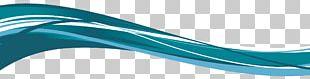 Light Blue Wind Wave PNG