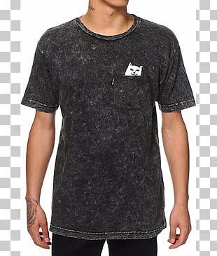 Long-sleeved T-shirt Tie-dye Long-sleeved T-shirt RIPNDIP PNG