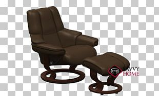 Recliner Eames Lounge Chair Footstool Foot Rests PNG