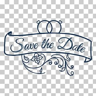 Wedding Save The Date PNG
