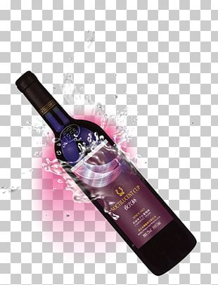 Red Wine White Wine Bottle PNG