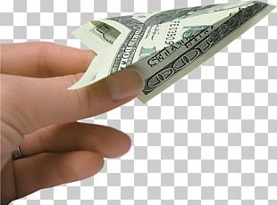 Airplane Paper Plane Money PNG