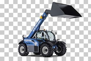 Telescopic Handler New Holland Agriculture Tractor Machine PNG