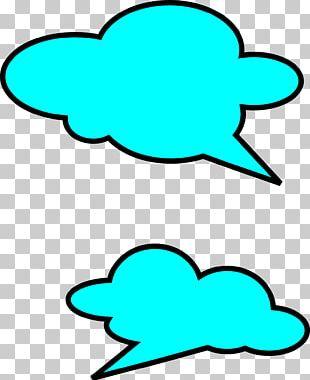 Bubble Cloud Speech Balloon Callout PNG