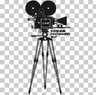 Tripod Movie Camera Film Video Cameras PNG