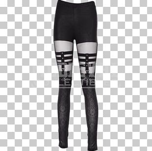Leggings T-shirt Pants Goth Subculture Clothing PNG