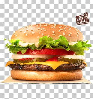 Whopper Hamburger French Fries Cheeseburger Burger King PNG