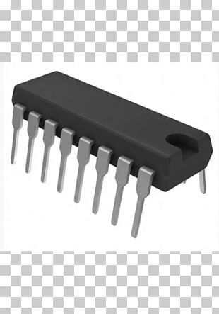 Counter Integrated Circuits & Chips Dual In-line Package Texas Instruments Resistor PNG