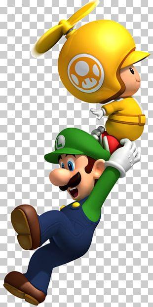 New Super Mario Bros. Wii New Super Mario Bros. Wii Luigi PNG