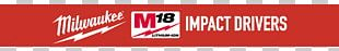Logo Milwaukee Electric Tool Corporation Brand Banner PNG
